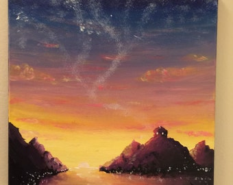 Magical Sunset Painting