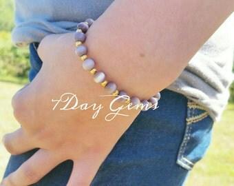 Size 7 Cats eye bracelet bracelet Beaded Jewelry Beaded Accessories Cute bracelet Beaded Bracelets bracelet cheap bracelet simple