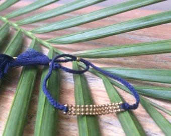 Madu Bracelet - Navy Blue