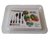 3D Jelly Gelatin Tools / Jello Gelatin Needles Flowers Art cake (Stork/Sparrow 5pcs/Set#15)