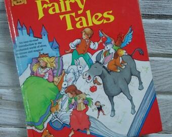 Vintage Treasury of Fairy Tales book - Fairy Tales book - Vintage Fairy Tale book -  1984 Fairy Tale book - Children's book - Kids bedtime