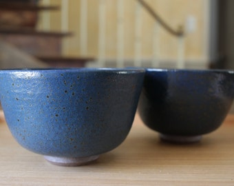 Bowl // blue glaze // ceramic // stoneware