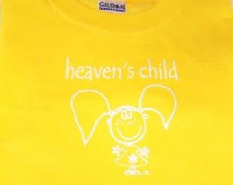 Heaven's Child designer logo t shirt
