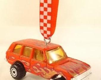Range Rover SUV  - Hotwheels  - Christmas Ornament - FREE SHIPPING