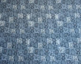 Jersey BIO - cats stylized on gray background