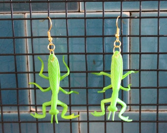 Praying Mantis Earrings