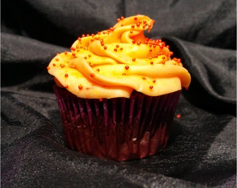 Chocolate Orange Cupcakes, 1 Dozen, Local Delivery Only
