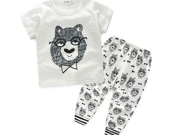 Baby Boy Shirt and Pants Set