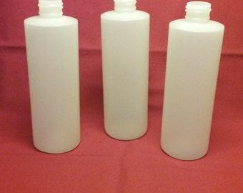 Cylinder bottle - Natural - 2 oz - 12 each
