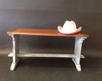 Over2hills Upcycled Rustic Bench
