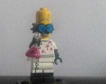 LEGO mini figure MAD SCIENTIST