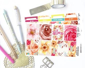 Regular | Autumn Bloom | Planner Kit