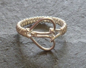 Single Heart Ring