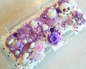 DISCOUNTED Purple Decoden 3DS Case