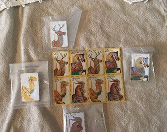 Collection Carosel Stamps/Pins