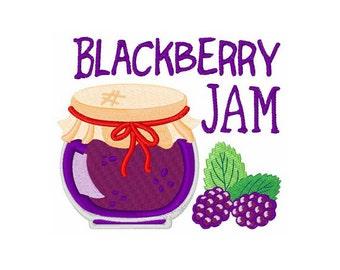 Blackberry Jam - Machine Embroidery Design