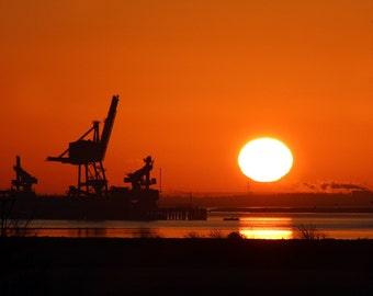 Photo: Morning Sunrise, Hoo, North Kent, UK. (Landscape)
