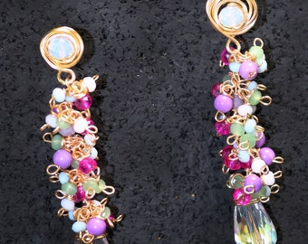 Beads mix Earrings