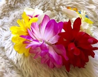 Floral Goddess Headband