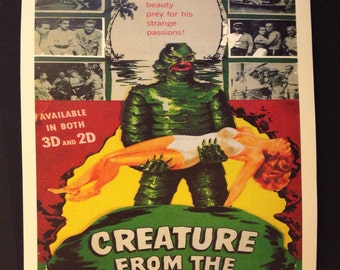 "The Creature from the Black Lagoon Movie Poster 12""x18"""