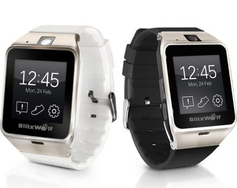 Smart Watch For Samsung Android & iPhone NFC SIM BT Camera gsm
