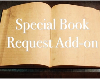 Book Add-On Request