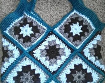 Crochet Granny Square Bag