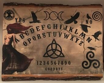 The Morrigan Celtic Ouija Board