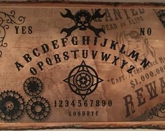 Steampunk Ouija Board