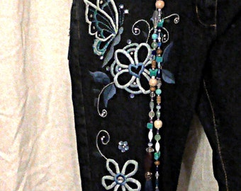 Joanna embroidered jeans