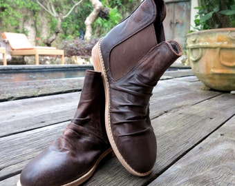 OUTBACK BOOT |   Womens Ankle Boots / Custom Boots / High Quality Leather / Size: EU 36 - 41