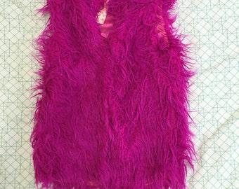 Pink Fluffy MINKPINK Vest