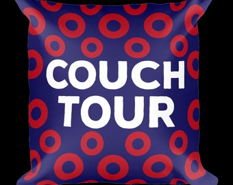 Phish Phan Couch Tour Pillow 18x18inches