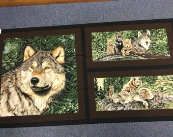 Wolf Song by Exclusively Quilters