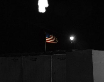 American Flag in Iraq