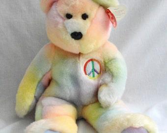 ty Beanie bear 'Peace'
