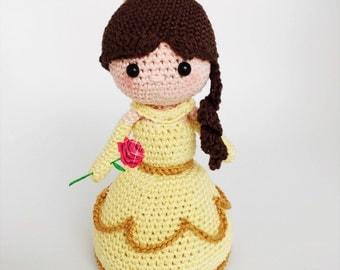 Belle crochet pdf pattern english