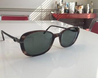 Vintage Yves Saint Laurent Tortoise Shell Sunglasses