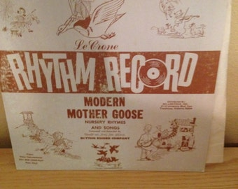 "Mother Goose Record ""LeCrone"""