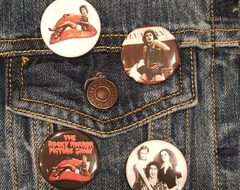 Rocky Horror Picture Show, Dr. Frank N. Furter, 1975, Buttons, Pins,Magnets, 1.25 inch, high quality