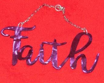 Motivational, Inspirational, Wall Hanging, Word, Faith