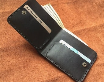 Leather wallet. Leather wallet.