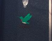 Hummingbird decal bird decal