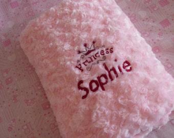 Personalised baby blanket - personalised new baby gift