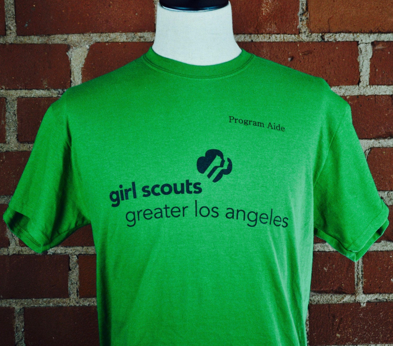 girl scouts of greater los angeles program aide green t