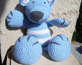 Tutorial or Teddy bear crochet pattern
