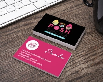 Perfectly Posh Business Card - Home Office Compliant - Personalized - Customizable