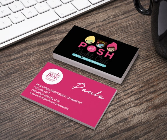 perfectly posh business card home office compliant. Black Bedroom Furniture Sets. Home Design Ideas