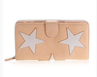Nude color wallet