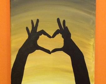 I Heart Hands